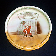 Royal Bayreuth Jack Horner Nursery Rhyme Baby Child Feeding Dish