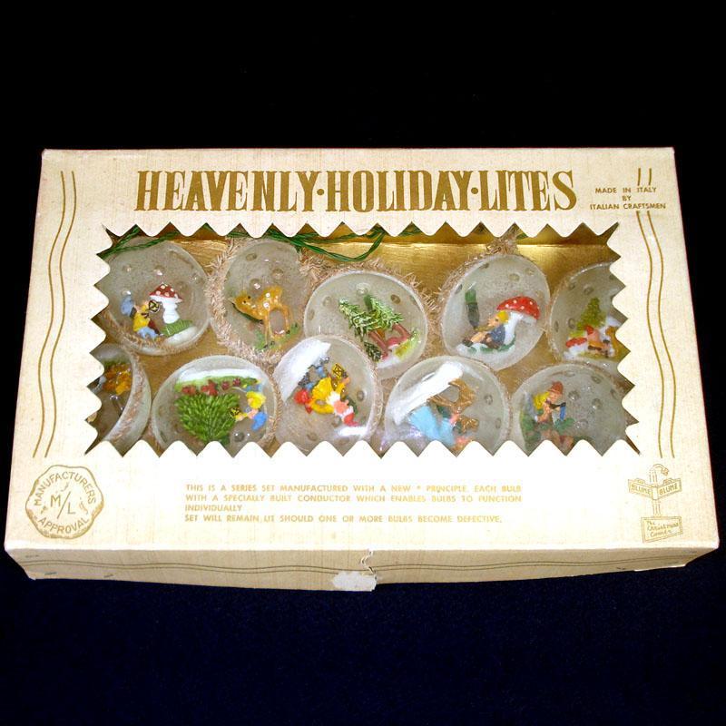 6 Real Egg Shell Angel Theme Diorama Christmas Ornaments