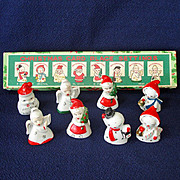 1940s Gurley Large Santa Claus Figural Christmas Candle