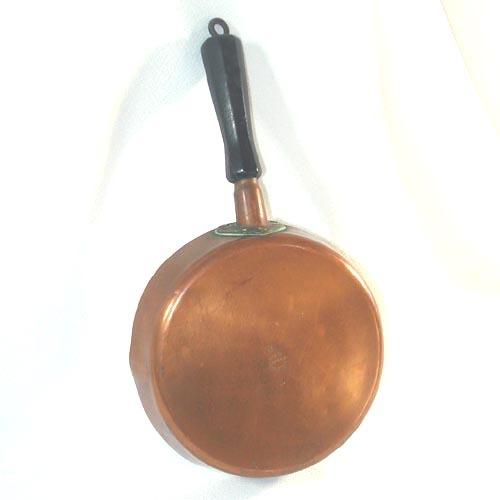 Revere 7 inch Solid Copper Skillet Circa 1930