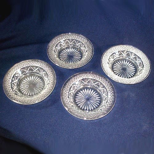 4 Imperial Cape Cod Baked Apple Bowls Dishes