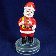Antique German Glass Embossed Raspberries Christmas Ornament
