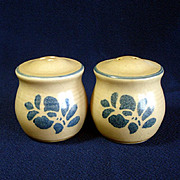 Pfaltzgraff Folk Art Salt & Pepper Shakers
