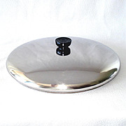 Large 12 Inch Replacement Lid For Revere Ware Copper Clad Skillet