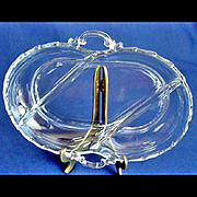 Fostoria Century 3-Part Divided Relish Dish