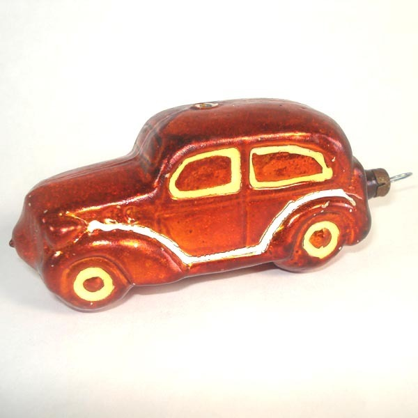 German Glass Automobile Car Christmas Ornament