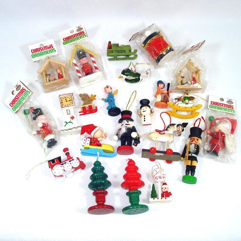 Mercury Glass Striped Candy Cane Christmas Ornament