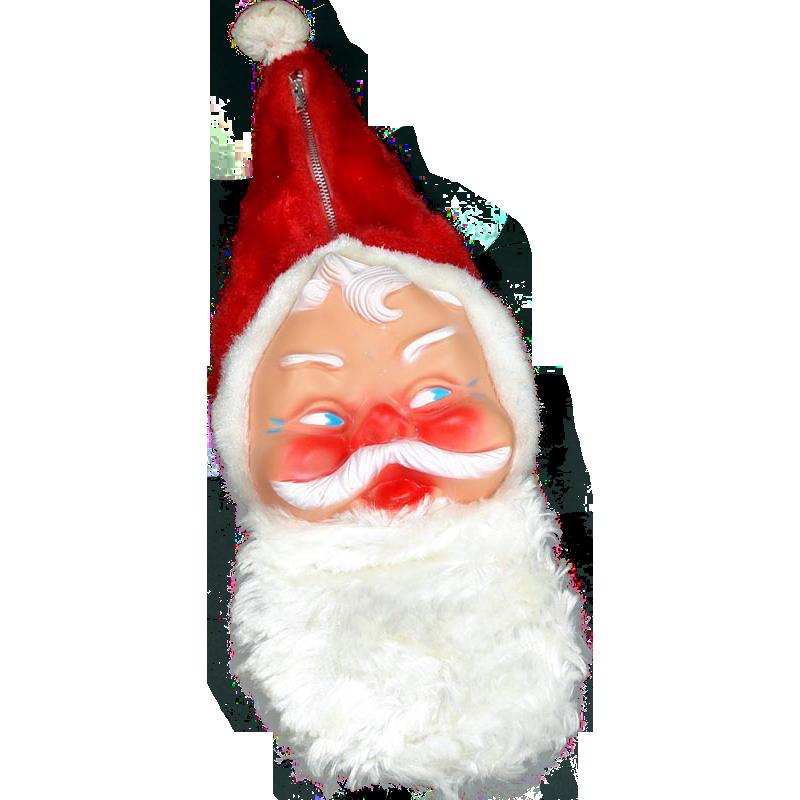 1950s Bijou Santa Claus Child's Pajama Pillow Bag Christmas