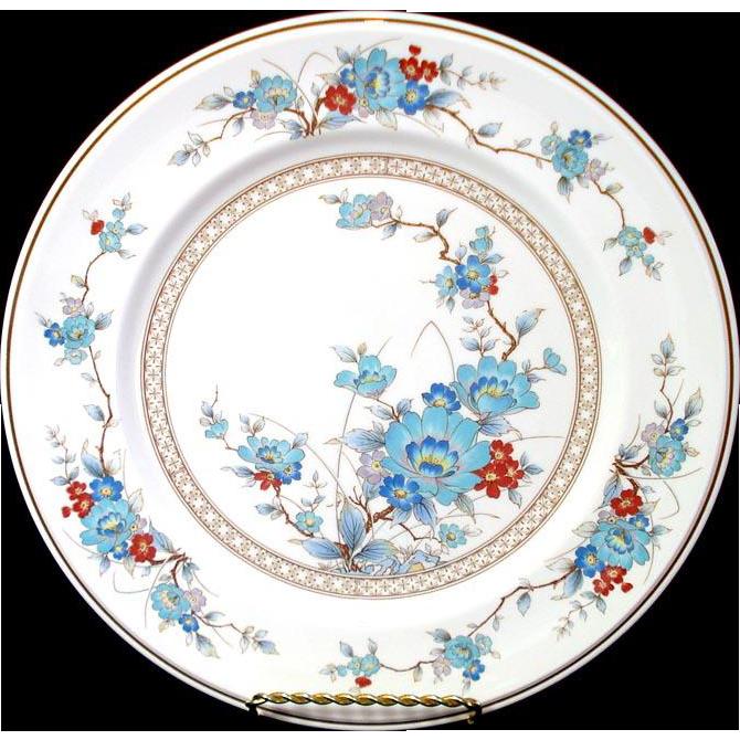 Noritake Bleufleur Dinner Plate, 12 Available