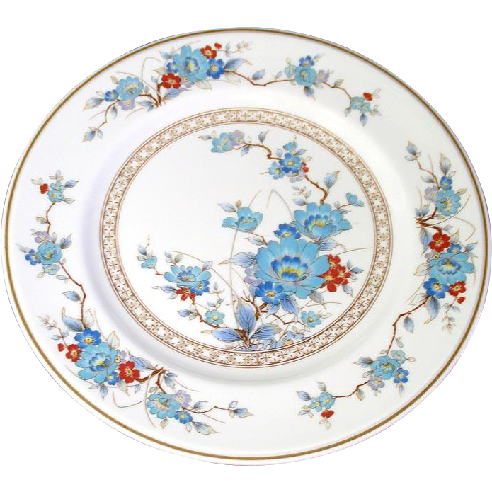 Noritake Bleufleur Salad Plate, 7 Available