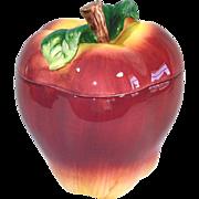 Ceramic Apple Cookie Jar