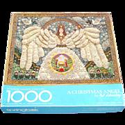 Christmas Angel Jewelry Collage 1000 Pc Springbok Puzzle Original