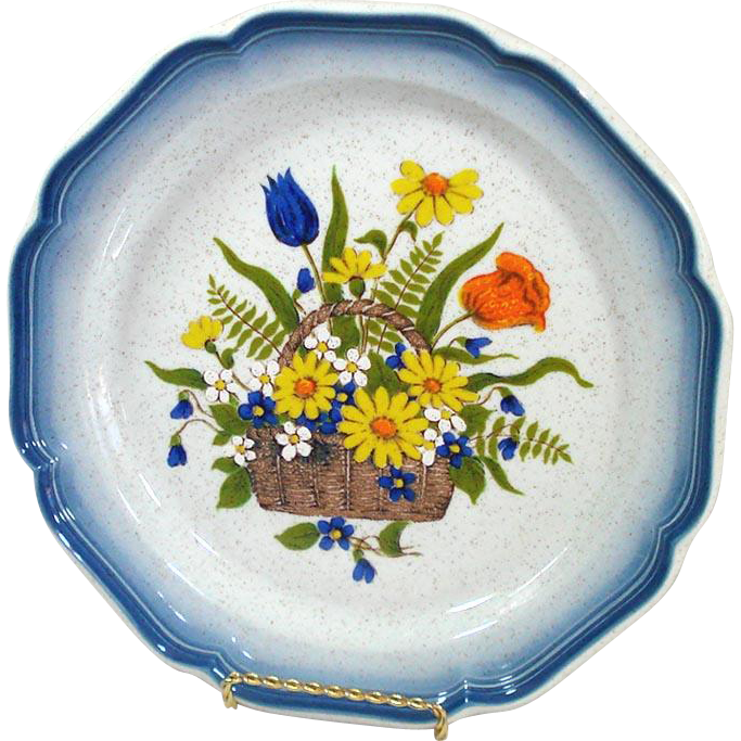 Mikasa Garden Treasures Dinner Plate, 10 Available