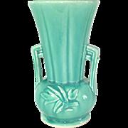 McCoy 8 Inch Green Vase