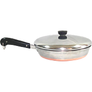 Revere Ware Copper Clad Stainless 10 Inch Skillet