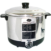 Sunbeam Electric Chrome Cooker Deep Fryer With Manual