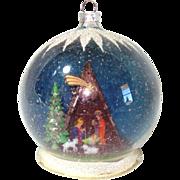 Nativity Scene Diorama Glass Dome Christmas Ornament