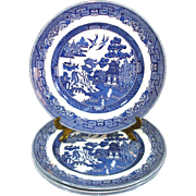 Johnson Brothers England Blue Willow Dinner Plate Mint