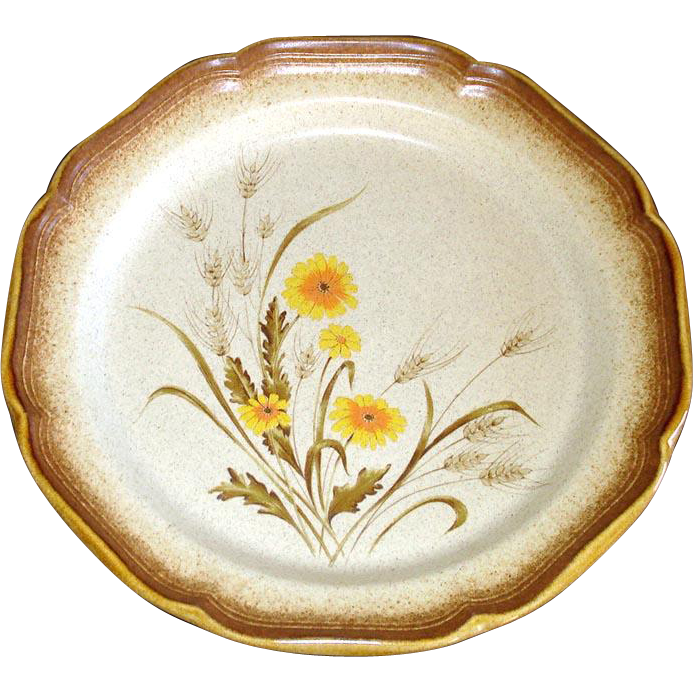 Mikasa Whole Wheat Whispering Dinner Plate, 5 Available