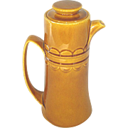 Homer Laughlin Golden Harvest Coffee Pot
