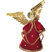 Koestel Wax Angel Christmas Tree Topper Figurine