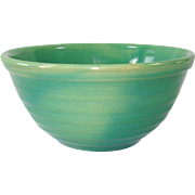 Bauer Ring Ringware Shaded Green Mixing Bowl Number 12