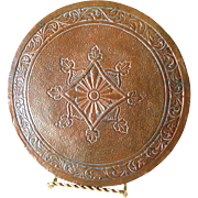 Arts and Crafts Antique Copper Hot Plate Kitchen Trivet