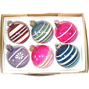 Box 6 World War II Unsilvered Christmas Ornaments