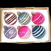 Box 6 World War II Unsilvered Christmas Ornaments