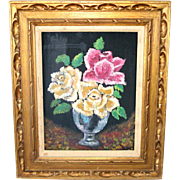 Carved Wood Gilt Picture Frame 22 by 26 Inches