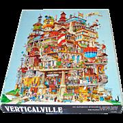 Verticalville Bob Martin 1977 Springbok Jigsaw Puzzle