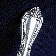 Chalice Oneida Wm A Rogers Silverplate Pierced Serving Spoon