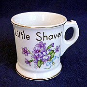 Occupied Japan Childs Mug with Violets