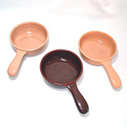 Franciscan El Patio Individual Casserole  Coral or Redwood Brown