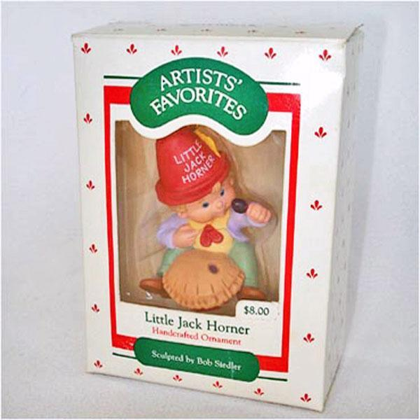 Hallmark 1988 Little Jack Horner Keepsake Ornament