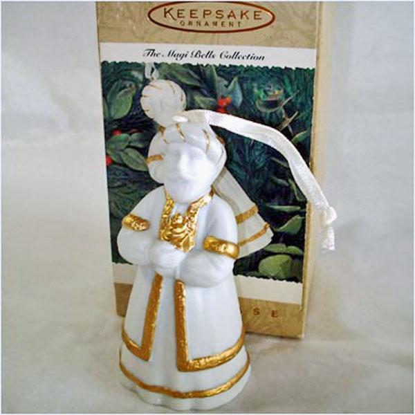 Hallmark 1996 Magi Bells Melchior Christmas Ornament MIB