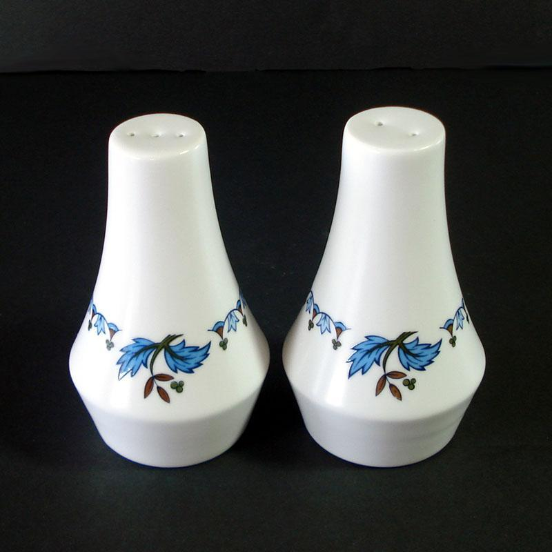 Noritake Blue Moon Salt and Pepper Shakers