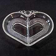 Duncan Miller Tear Drop Teardrop Heart Shape Relish Dish
