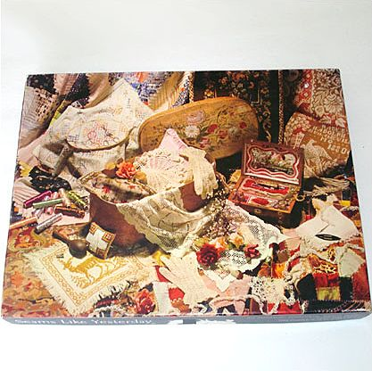 Springbok Seams Like Yesterday Needlework Jigsaw Puzzle