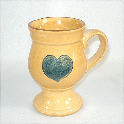 Pfaltzgraff American Footed Pedestal Coffee Mug