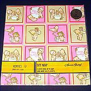Kewpies 1973 Gift Wrap Sealed Package