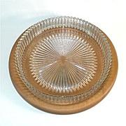 Heisey Ridgeleigh 11 Inch Low Centerpiece Bowl