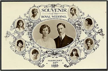 """Souvenir of the Royal Wedding""  (1922)"