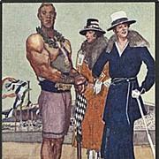 """""""Siegfried"""" signed Roland Strasser  (1930')"""