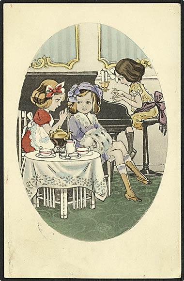 """""""Afternoon Tea""""  (1916)"""