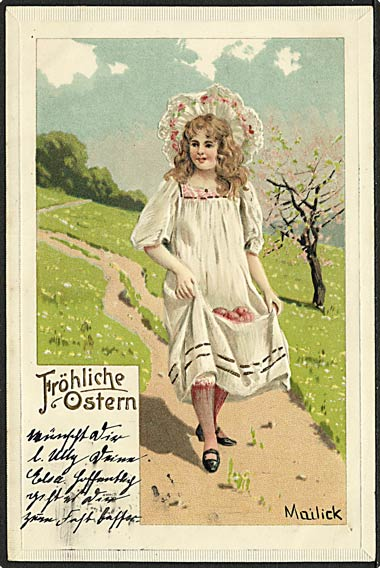 """Girl with Easter Eggs""  (1906)"