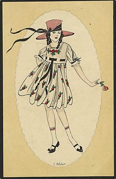 """""""Chic"""" signed E. Weber (1960')"""