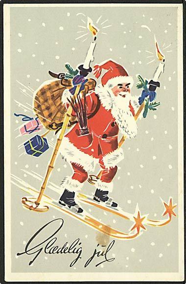 """""""Skiing Santa""""  (1975)"""