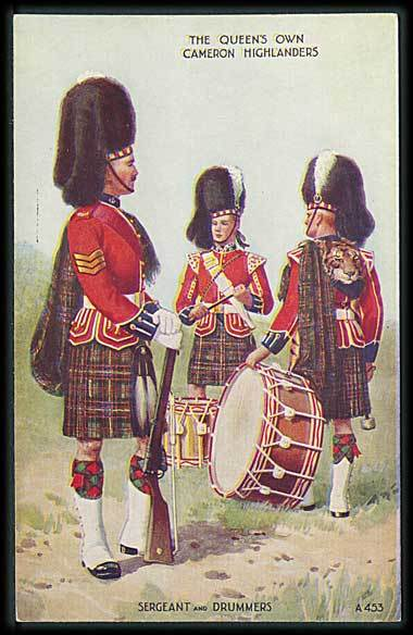 """Sergeant and Drummers""  (1920')"