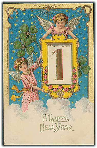 """A Happy New Year""  (1908)"